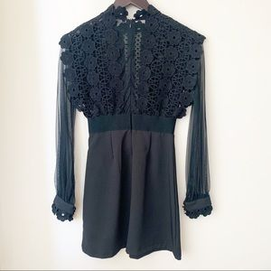 Haute Rogue Black Dress